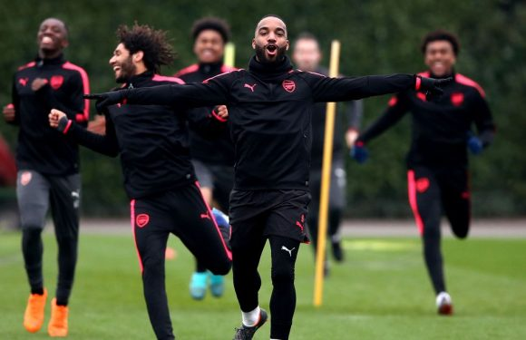 6 things noticed from Arsenal training ahead of CSKA Moscow tie