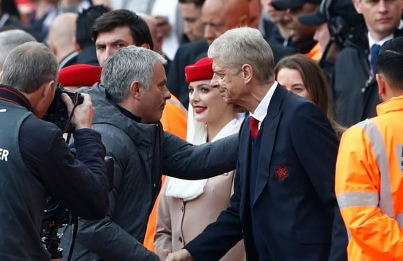 Mourinho on whether Wenger rivalry will continue after Frenchman leaves Arsenal