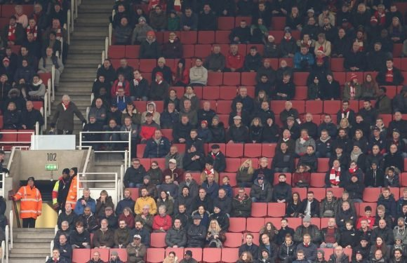 Wenger explains away empty seats before Euro clash when there can be no excuse
