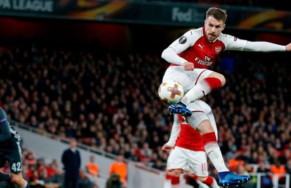 Wenger hails 'special' Ramsey as wonder striker helps Arsenal past CSKA Moscow