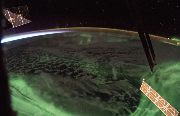 NASA shares spellbinding picture of the Aurora Borealis seen from the ISS