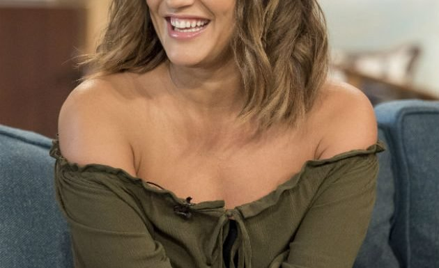 Caroline Flack unrecognisable in throwback family snap