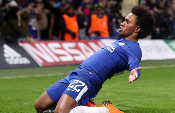 Willian on his Chelsea future amid interest from clubs including Man United