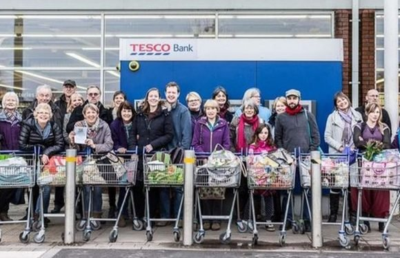 TV presenter criticises campaigners for tearing plastic off Tesco products