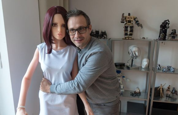 Robot sex doll inventor says homemade erotic cyborg has saved his marriage