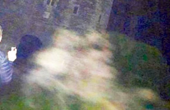 Spooky photo could show ghosts of brothers who died at 'most haunted castle'