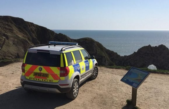 Girl, 5, dies after being swept out to sea at Durdle Door beauty spot in Dorset