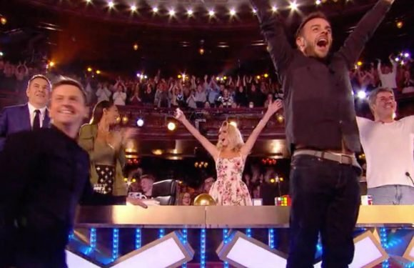 First golden buzzer act revealed as Ant tears up on BGT