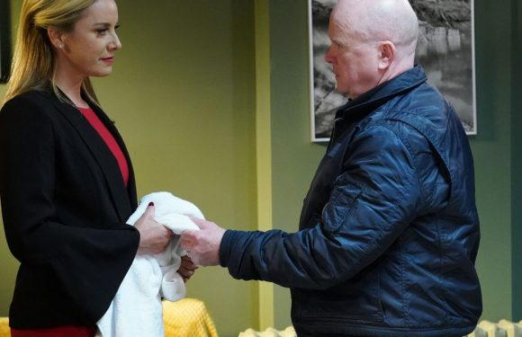 Hunter becomes the hunted when Phil goes on the warpath in EastEnders