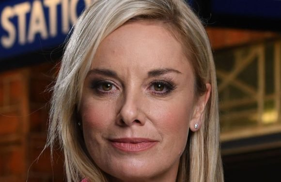Tamzin Outhwaite 'dating much-younger man' who looks just like her ex-husband