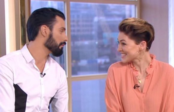 Emma Willis and Rylan Clark-Neal a big hit as they fill in on This Morning