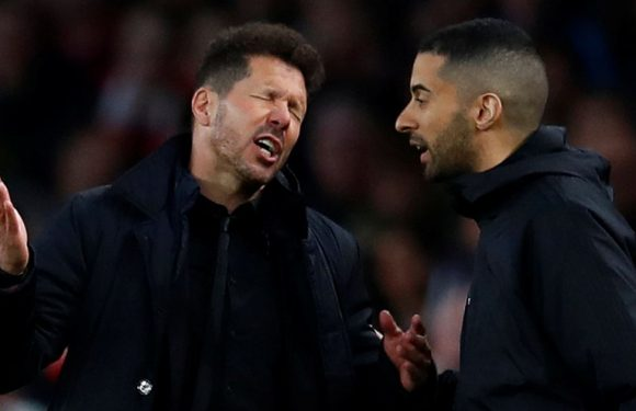 Simeone's fiery antics will have done little to impress the Arsenal hierarchy