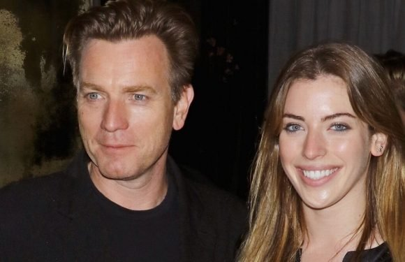 Ewan McGregor's daughter poses naked for Playboy
