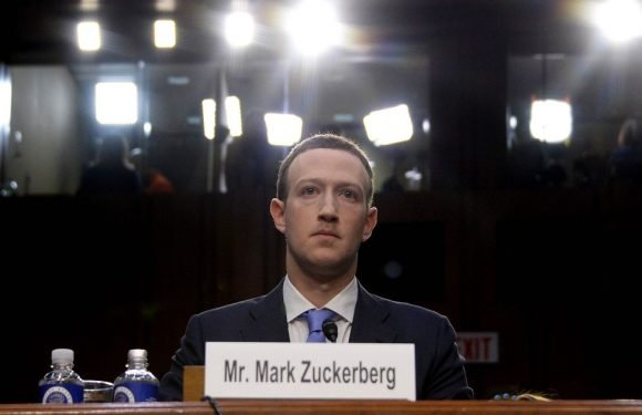 People spot something odd about how Mark Zuckerberg sat during Facebook hearing