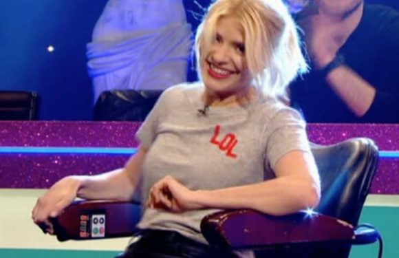 Holly Willoughby shocks fans during incredibly x-rated game on Celebrity Juice