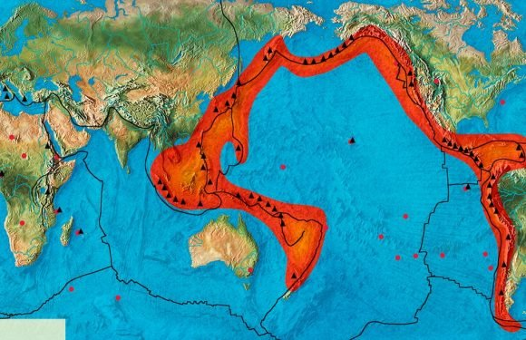 What is the Pacific ring of fire – the facts, causes and countries affected