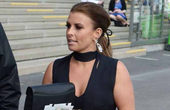 Coleen Rooney suffers fake tan fail during day out at the Grand National