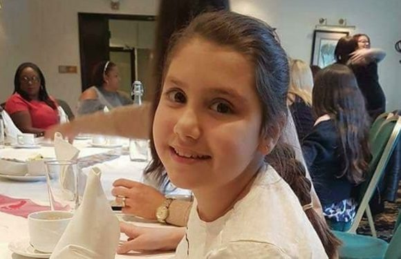 Healthy girl, 10, left unable to walk, talk or eat in space of just two months