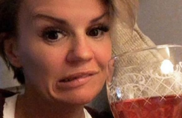 Kerry Katona drunk three bottles of Cava a night during troubled third marriage