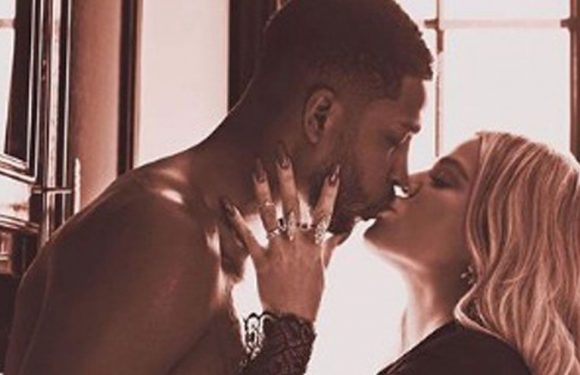 Pregnant Khloe Kardashian's heartbreaking post hours before Tristan cheat claims
