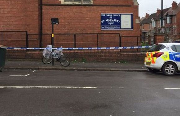 Woman fighting for life after being stabbed outside church