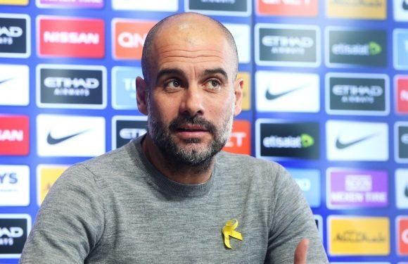 Guardiola reveals what he told his players after losing to Liverpool