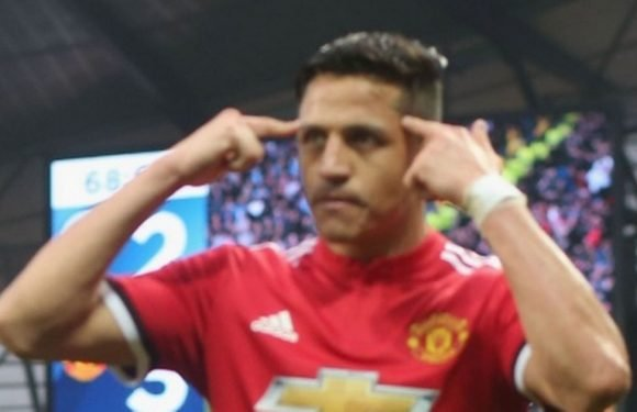What Mourinho said to Alexis Sanchez at half-time of Man City comeback