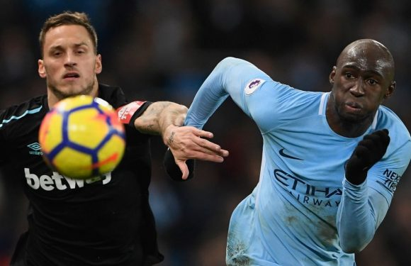 Staggering £1m per league appearance cost of Man City flop Mangala