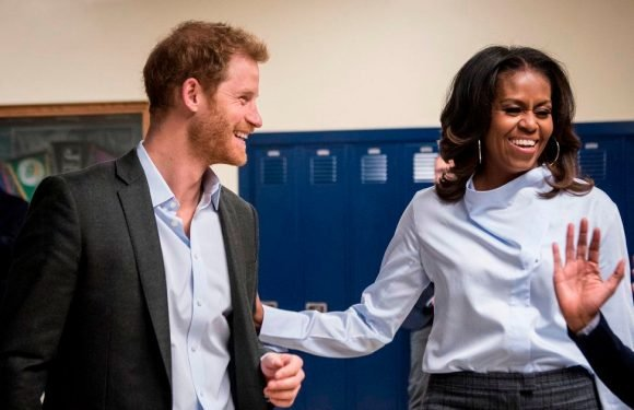 Why Prince Harry is reportedly fuming Michelle Obama can't come to his wedding