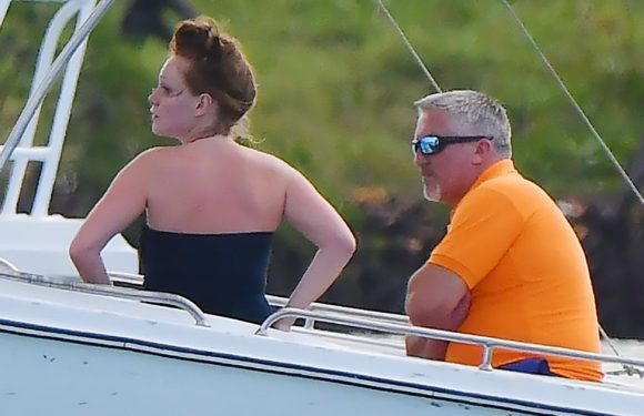 Paul Hollywood goes on posh holiday with young barmaid lover 30 years his junior