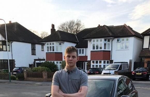 Teen who parked car on wrong driveway devastated when it's trashed