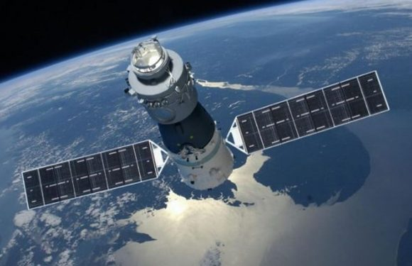 This is what happened to China's defunct space station as it came back to Earth