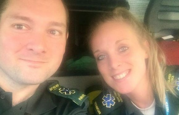 Paramedics abused for taking a break to buy chips during 10-hour shift