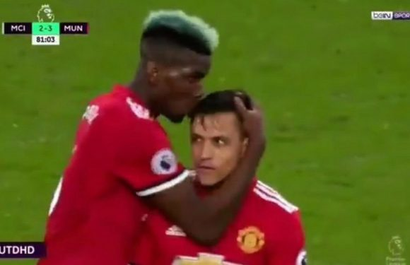 Paul Pogba reveals what Alexis Sanchez said to him before he scored