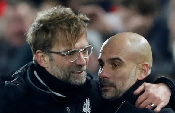Klopp reveals what he's going to say to Guardiola before second leg