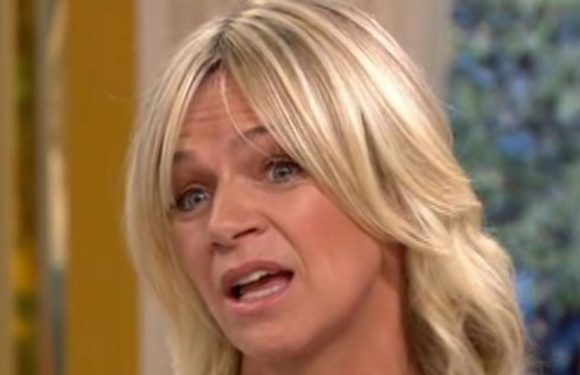 Zoe Ball chokes up over partner Billy Yates as picture of new boyfriend pops up