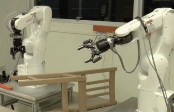 Robots take on hardest task known to man and complete it in just 20 minutes