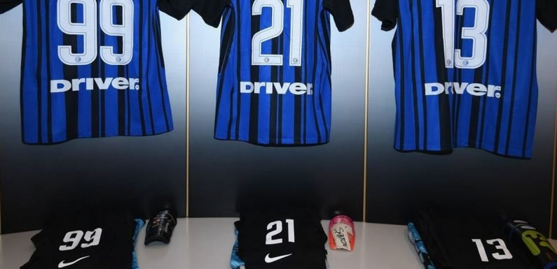Inter Milan slammed as players have Instagram handles on back of shirts