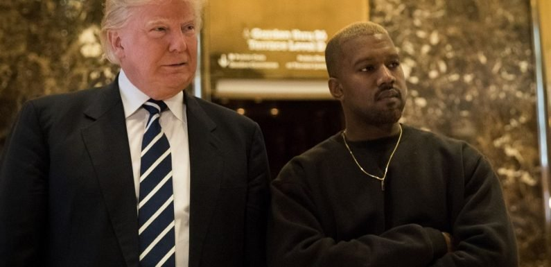 Kanye West 'loses 9 million followers after tweet about Donald Trump'
