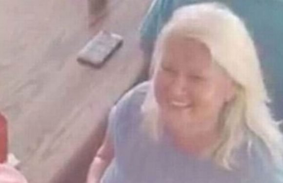 Woman wanted over husband's murder spotted flirting with lookalike she killed
