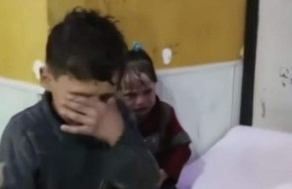 Russia claims child doused in liquid after Syria 'chemical attack' was fake news