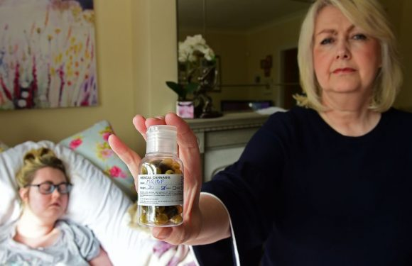 Mum risks jail spending importing cannabis oil to help terminally-ill daughter