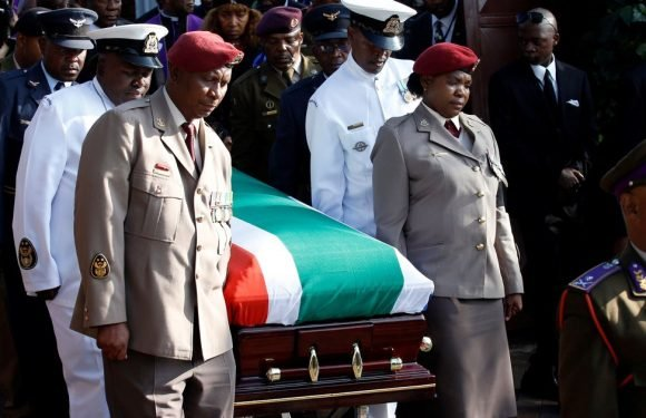 Thousands say goodbye to 'heroine' Winnie Mandela at emotionally charged funeral