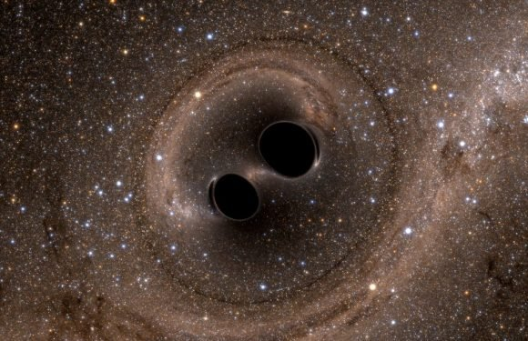 Scientists' amazing discovery while looking for black hole at centre of galaxy