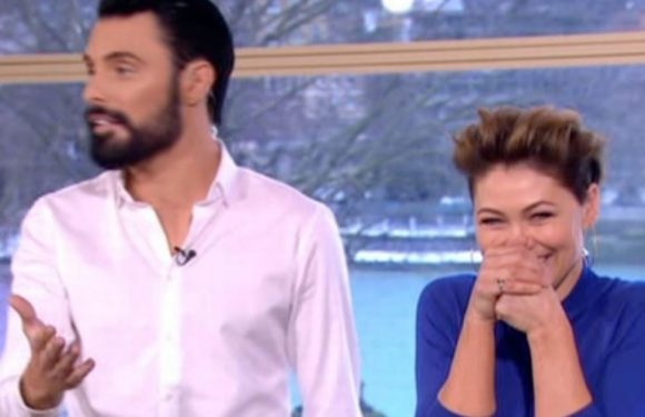 Outraged Rylan Clark-Neal baulks as he's forced to read out rude innuendo