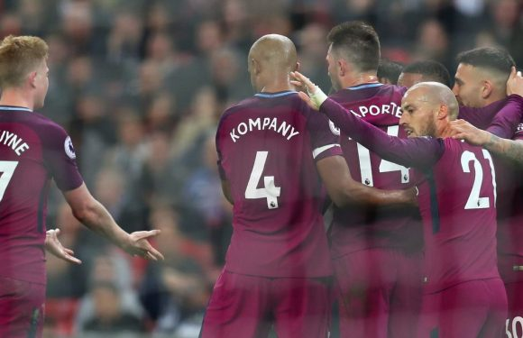 Man City win Premier League after West Brom's shock win at Old Trafford