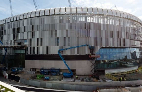 Tottenham fans go crazy for how new stadium is taking shape