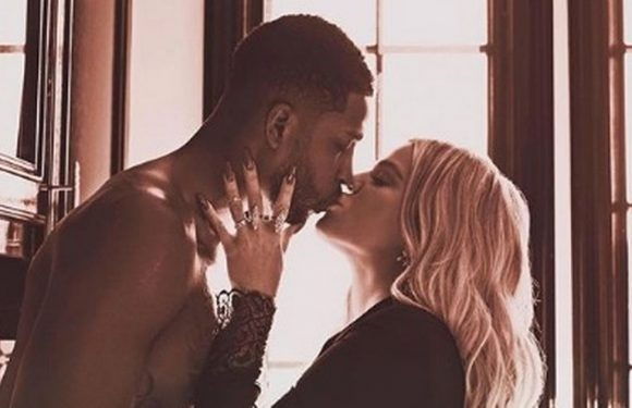Tristan Thompson's frantic dash to Khloe Kardashian's bedside as she gives birth