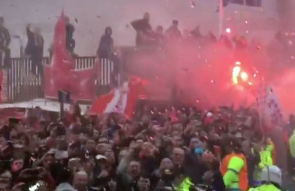 """Inside the Manchester City team bus during """"unacceptable"""" Anfield arrival"""