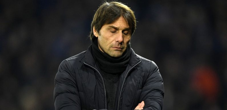 Antonio Conte says 'don't blame just me for dismal title defence'